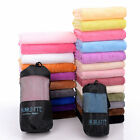 Magic Yoga Mat Towel Non-Slip Microfiber Sport Absorbent Soft - Pouch 140 x 70cm