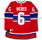 SHEA WEBER MONTREAL CANADIENS ADIDAS ADIZERO HOME JERSEY AUTHENTIC PRO