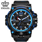 Men Sport Watch Dual Display Analog Digital LED Electronic Wrist Watches Outdoor