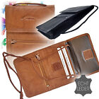 Brustbeutel Leder Brusttasche Umhängebeutel Geldbeutel Security Wallet Unisex