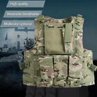 Tactical Vest Military SWAT Police Airsoft Molle Combat Assault Plate Heavy DutyChest Rigs & Tactical Vests - 177891