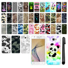 "For Samsung Galaxy J5 Prime G570/ On5 5"" Camo Design HARD Back Case Cover + Pen"