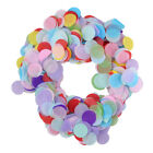 10g/pack Colorful Round Paper Throwing Confetti Birthday Hen Wedding Party Decor
