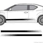 Scion tC or FR-S Faded Rocker Panel Racing Stripes 3M Vinyl Decal Kit on eBay