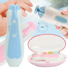 Electric Baby Toddler Nail File Device LED Safe Manicure Tool & 6X Grinding Head
