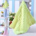 Newest Soft Cotton Baby Infant Newborn Bath Towel Washcloth Feeding Wipe Cloth