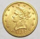 1882-P $10 Ten Dollar  LIBERTY GOLD EAGLE BU   #6 B54 *Free US Ship