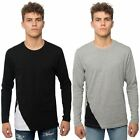 Loyalty & Faith Mens T Shirt Long Sleeve Crew Neck Graphic Zip Brand Tee