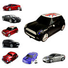 Gift 2.4Ghz Wireless Optical Car Mouse Laptop PC Computer Mice LED +USB Receiver