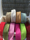 ELEGANZA Country Hessian Wire Edged Ribbon - 10 shades & var lengths *NEW PRICE*