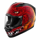 Icon Alliance Lucifur Full Face Helmet Red