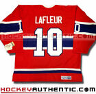 GUY LAFLEUR MONTREAL CANADIENS CCM VINTAGE AWAY JERSEY RED NHL HOCKEY