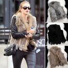 Womens Ladies Fur Coat Jacket Casual Gilet Waistcoat Party Outdoor Wear Warm New