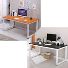 Computer Desk Wooden PC Laptop Table Workstation Study Home Office Black Brown