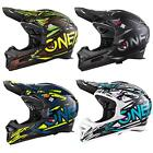 ONeal Fury RL Fahrrad Downhill Helm Synthy Action Cam Fullface MTB Mountain Bike