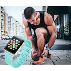 For Apple Watch Series 1 2 3 38/42mm!Hot Teal Silicone Bracelet Wrist Strap Band