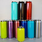 Stainless Steel Insulated Vacuum Thermos Drink Cans Bottle With Straw Hot/Cold
