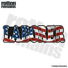 Laborer Decal American Flag USA United States Hard Hat Gloss Sticker HGV