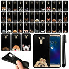 "For Asus ZenFone 3 Laser ZC551KL 5.5"" Dog Design Black SILICONE Case Cover + Pen"