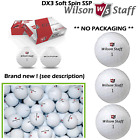 WILSON DX2 GOLF BALLS ** BRAND NEW ** WILSON DX2 SOFT WHITE NO PACKAGING