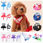 Soft Breathable Border Knit Vest Harness Chest Strap For Dog Puppy Cat Pet MSYG