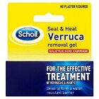 Scholl Seal & Heal Verruca Removal Gel Treatment Warts Calluses Corn Pain Relief