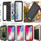 Shockproof Waterproof Military Aluminum Metal Case Cover For Samsung/ iPhone