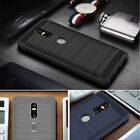 For Lenovo Phab 2 /Plus /Pro Shockproof Armor Carbon Fiber Brush Cover Case