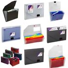 *OFFER* Snopake Expanding Organiser Files Accordion Storage Case Range!