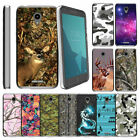 For Alcatel idealXCITE (2017) Slim Fitted Durable Flexible Clear TPU Case Camos