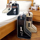 FASHION Travel Household Boots Receive Bag Shoes Viewable Dust Boot Cover MMJ