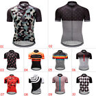 New Mens Cycling Gears Jerseys Race Fit Tops Short Sleeve Riding Shirts Sweaters