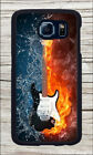 GUITAR FIRE VS WATER CASE FOR SAMSUNG GALAXY S6 -sjh8X