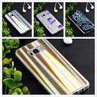 Luxury Slim Shiny laser pattern Soft TPU Case Cover For iPhone/Samsung/Huawei