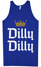 Kyпить Dilly Dilly Men's Tank Top Funny Beer Commercial Pit of Misery Drinking Crown на еВаy.соm