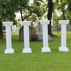 Wholesale Union Party Decorations Plastic White Swans and Roman Columns Kit
