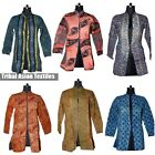 Vintage kantha Long Maharaja Jacket Reversible Gudri Rally Coat Sherwani Many