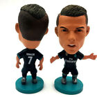 "Soccer Real Madrid Away 2018 season Player Star 2.5"" Action Doll Figure Black"