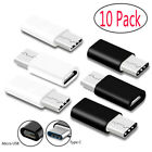Lot Micro USB Adapter to Type-C Converter Connector For Samsung Note 8 / S8 Plus