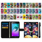 For Samsung Galaxy J3 J310 J320 J321 J3 V Wallet Pouch Case Cover + Pen