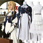 Violet Evergarden Cosplay Costume Auto Memories Doll Outfit Fancy Dress Set
