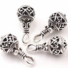 10/20 PCS Tibetan Silver Hollow Out Charm Beads Pendant Diy Jewelry Making 25MM