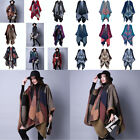 Lady travel shawl Ethnic style open the cloak Wild lattice Autumn and winter