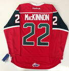 NATHAN MACKINNON REEBOK PREMIER HALIFAX MOOSEHEADS JERSEY COLORADO AVALANCHE M