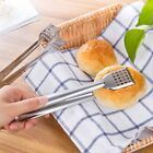Stainless Steel Bread BBQ Picnic Buffet Food Tongs Clip Kitchen Clamp Tools TOP