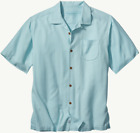 Tommy Bahama Men's Big & Tall Blue Belize Island Zone Camp Button Down Shirt image