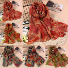 Women Rural Cotton&linen Floral Mosaic Printing Tippet Scarf Wrap Shawl OW986
