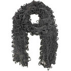 SHAGGY KNIT LONG WINTER SCARF