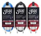 Jagg Guitar Cable Professional Lead Electric Bass Electro Acoustic <br/> Lifetime Warranty