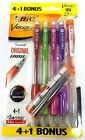 BIC Velocity Mechanical Pencil Refillable 0.9mm 5 or 10 Count Pack - Glue Stick
